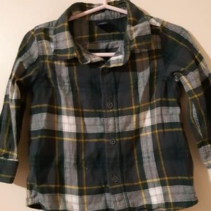Baby Gap Flannel Plaid Shirt